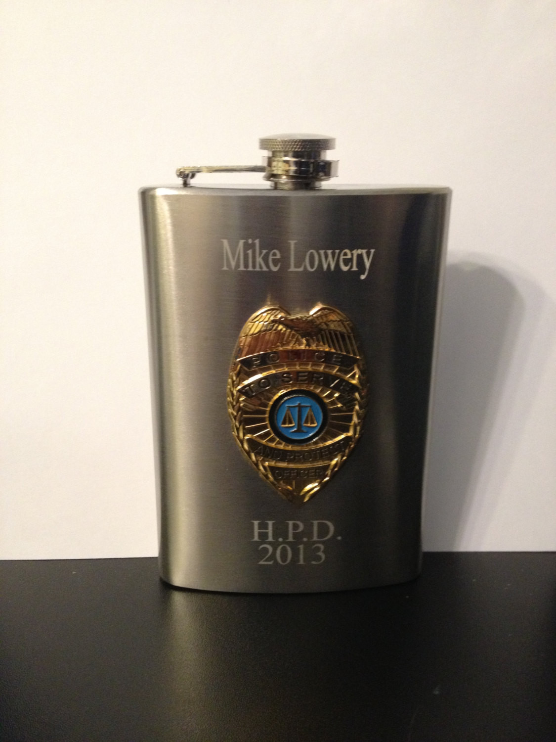 Best ideas about Police Gift Ideas . Save or Pin Police Flask policeman Flask Police ficer Flask 8oz Now.