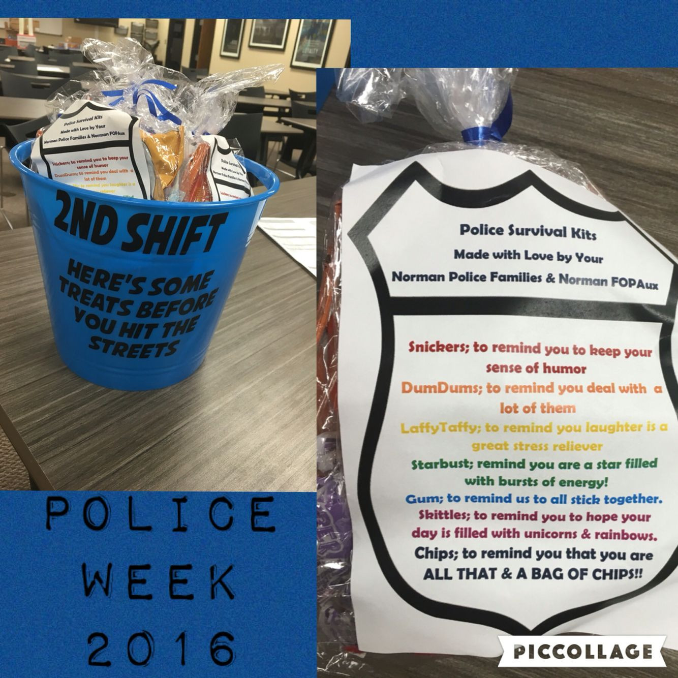 Best ideas about Police Gift Ideas . Save or Pin Police Survival Kits police Week ideas Thank a Police Now.
