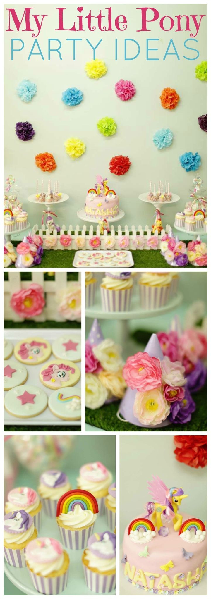 Best ideas about Ponies Birthday Party . Save or Pin 233 best My Little Pony Party Ideas images on Pinterest Now.