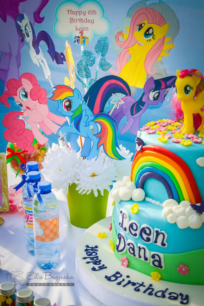 Best ideas about Ponies Birthday Party . Save or Pin Kara s Party Ideas My Little Pony Birthday Party Now.