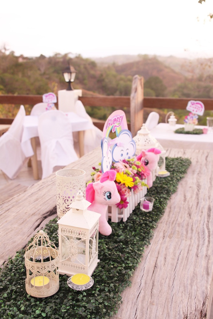 Best ideas about Ponies Birthday Party . Save or Pin Kara s Party Ideas My Little Pony Pastel Birthday Party Now.