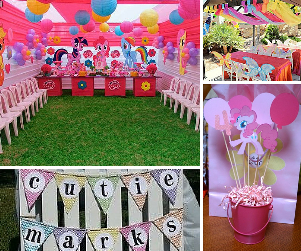 Best ideas about Ponies Birthday Party . Save or Pin My Little Pony Party Ideas Now.