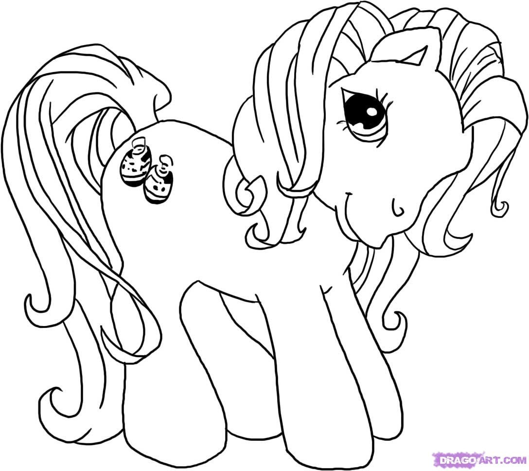 Best ideas about Pony Printable Coloring Pages . Save or Pin My Little Pony Coloring Pages Free Printable Now.