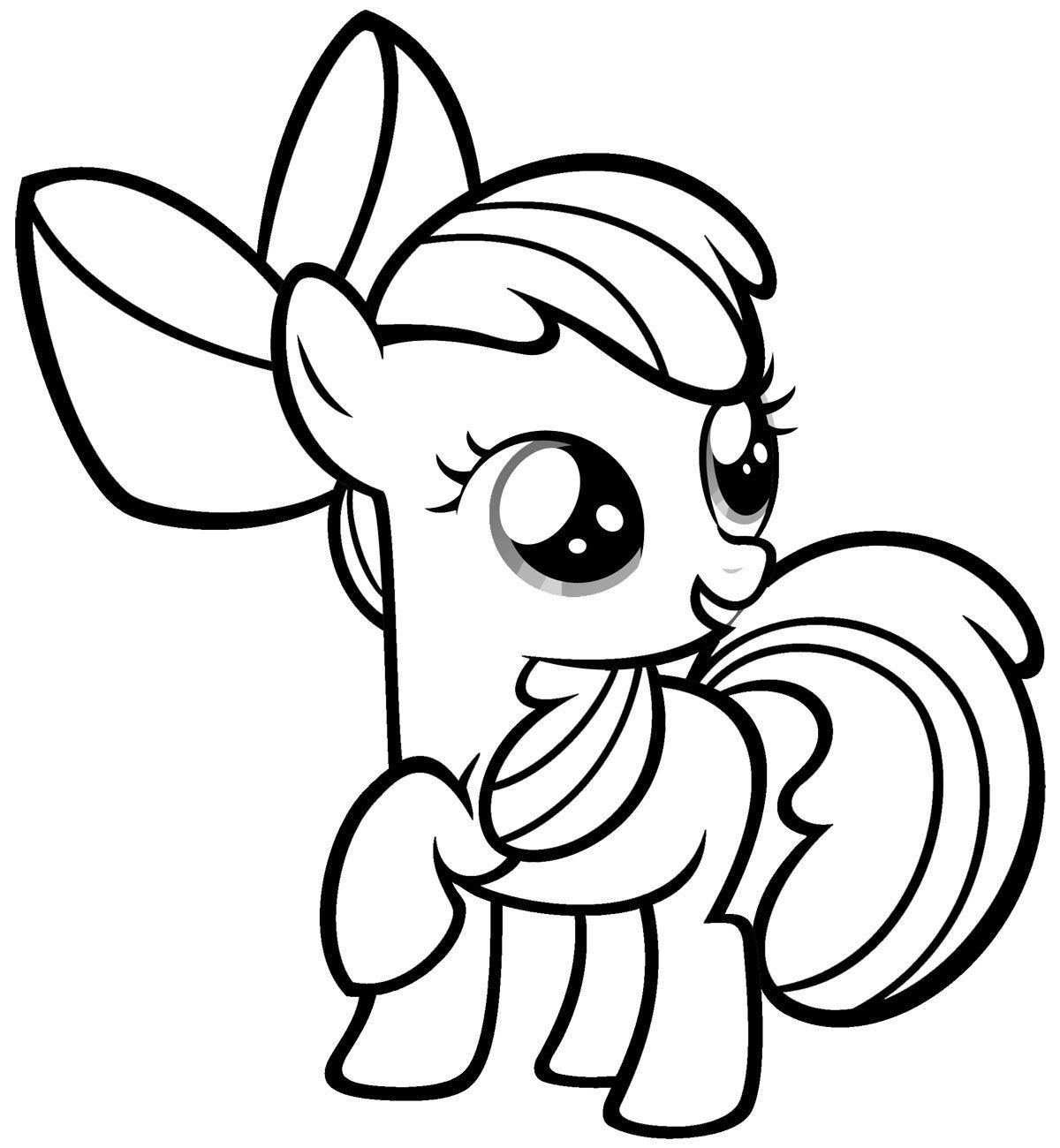 Best ideas about Pony Printable Coloring Pages . Save or Pin Free Printable My Little Pony Coloring Pages For Kids Now.