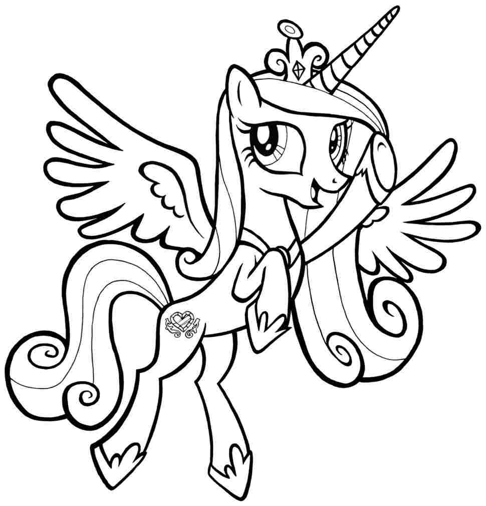 Best ideas about Pony Printable Coloring Pages . Save or Pin Printable Coloring Pages Little Pony Coloring Home Now.