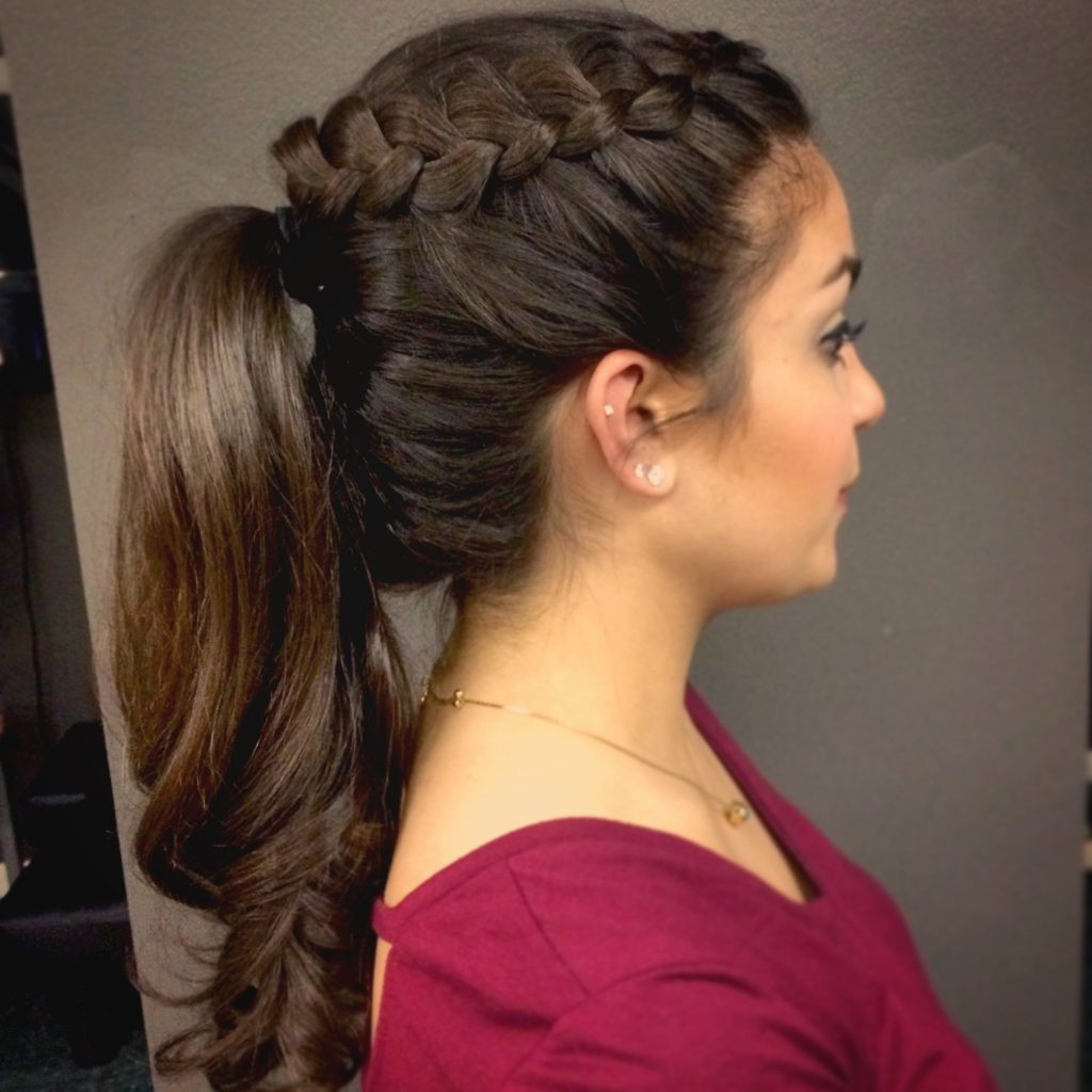 Best ideas about Ponytail Prom Hairstyles . Save or Pin Prom Hairstyles Ponytail Now.