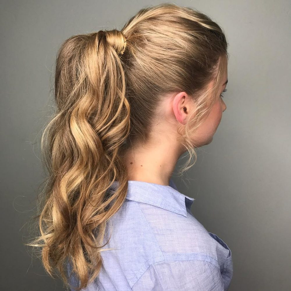 Best ideas about Ponytail Prom Hairstyles . Save or Pin 31 Prom Hairstyles for Long Hair That Are Gorgeous in 2019 Now.