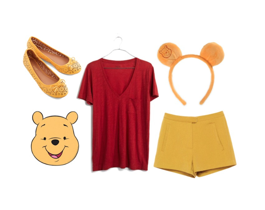 Best ideas about Pooh Bear Costume DIY . Save or Pin Eleventh Hour Costume Ideas Now.