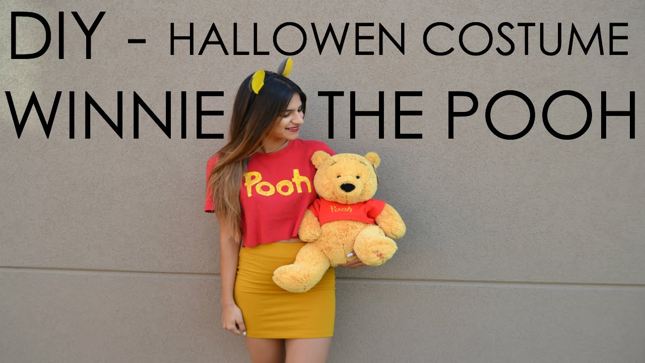 Best ideas about Pooh Bear Costume DIY . Save or Pin DIY Halloween Costume Winnie the Pooh Now.