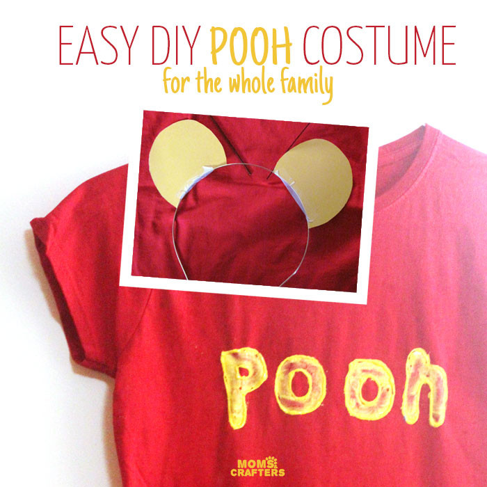 Best ideas about Pooh Bear Costume DIY . Save or Pin DIY Winnie the Pooh Costume No Sew Now.