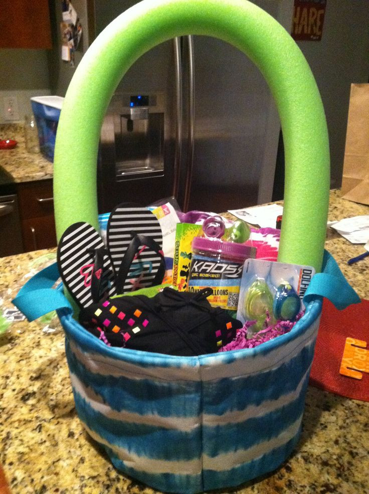 Best ideas about Pool Gift Ideas . Save or Pin Child s Summer Gift Basket Tie Die Basket from Tar Pool Now.