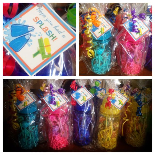 Best ideas about Pool Gift Ideas . Save or Pin Party Favors for Pool Party Now.