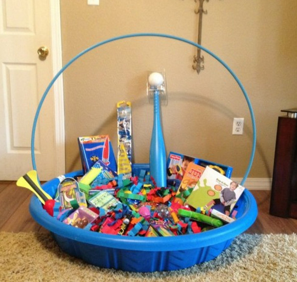 Best ideas about Pool Gift Ideas . Save or Pin swimming pool t basket Now.