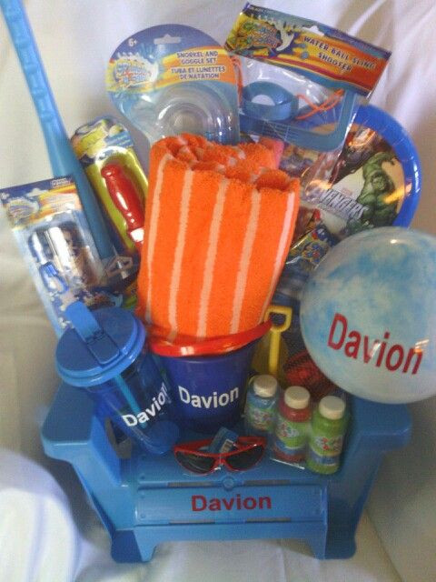 Best ideas about Pool Gift Ideas . Save or Pin Beach Pool Gift Basket Gifts Now.
