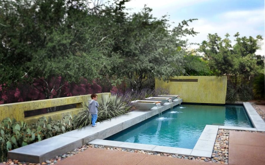 Best ideas about Pool Landscape Design . Save or Pin Swimming Pool Design Ideas Landscaping Network Now.