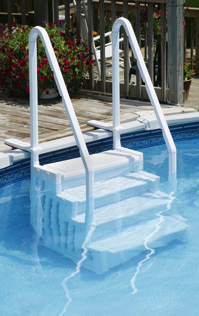 Best ideas about Pool Stairs Above Ground . Save or Pin The Best Dog Ramps Reviewed Helping You To Make The Now.