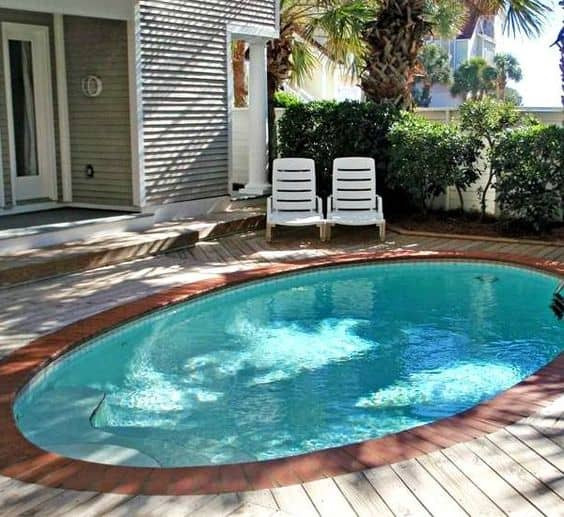 Best ideas about Pools For Small Backyard . Save or Pin 19 Swimming Pool Ideas For A Small Backyard Homesthetics Now.