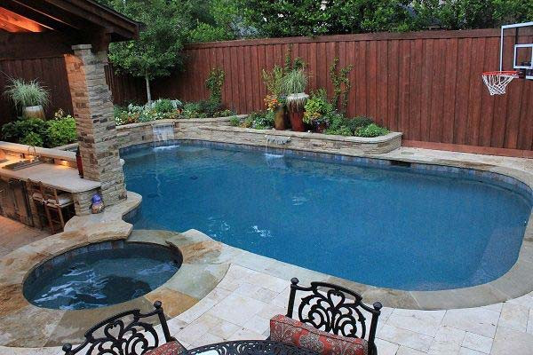 Best ideas about Pools For Small Backyard . Save or Pin 25 Fabulous Small Backyard Designs with Swimming Pool Now.