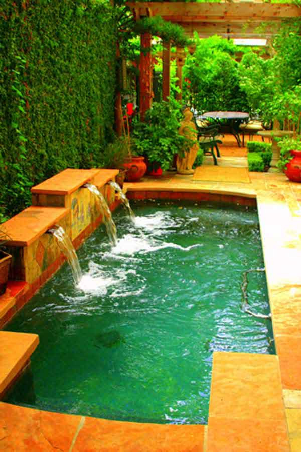 Best ideas about Pools For Small Backyard . Save or Pin 28 Fabulous Small Backyard Designs with Swimming Pool Now.