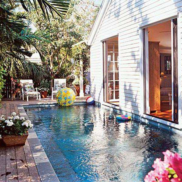 Best ideas about Pools For Small Backyard . Save or Pin 20 Amazing Small Bakcyard Designs with Pools Now.