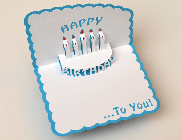 Best ideas about Pop Up Birthday Card Template . Save or Pin 72 Birthday Card Templates PSD AI EPS Now.