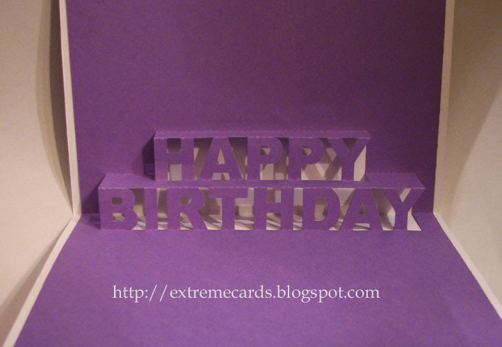 Best ideas about Pop Up Birthday Card Template . Save or Pin Happy Birthday Pop Up Card Now.