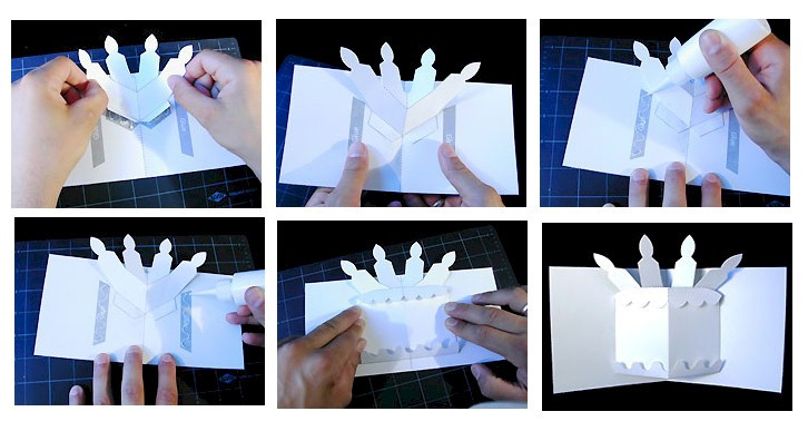 Best ideas about Pop Up Birthday Card Template . Save or Pin Pop Up Birthday Cake Card Now.