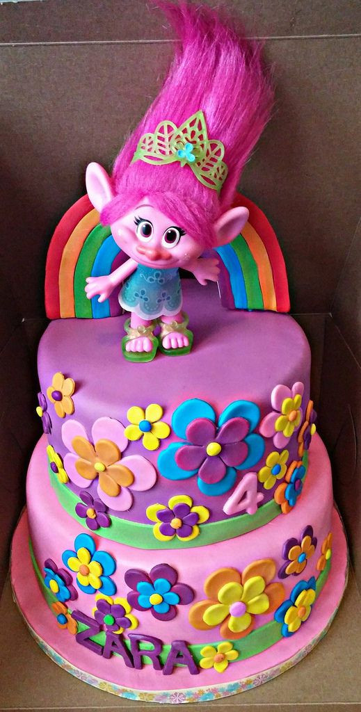 Best ideas about Poppy Troll Birthday Cake . Save or Pin Image result for princess poppy trolls cakes Now.