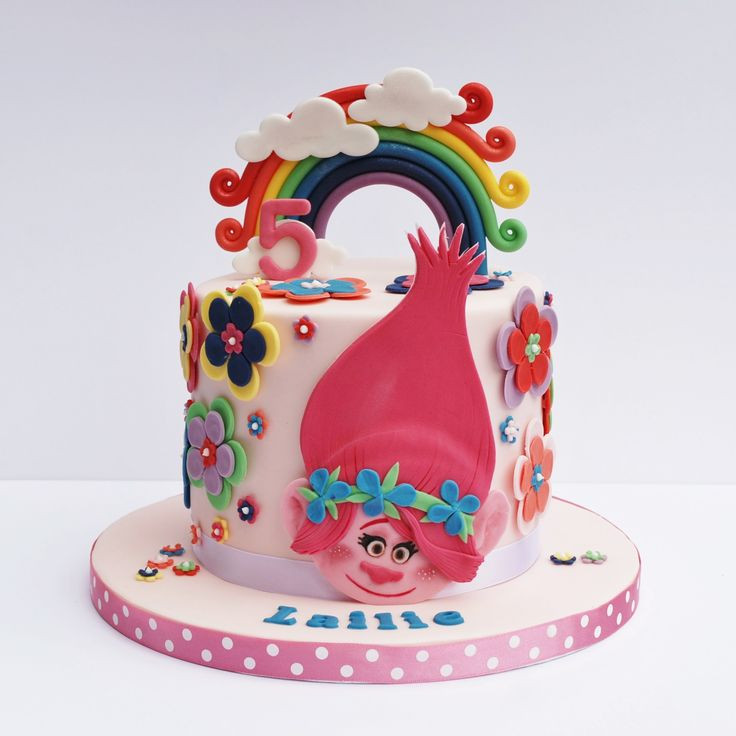 Best ideas about Poppy Troll Birthday Cake . Save or Pin Princess Poppy cake Trolls my favorit Now.