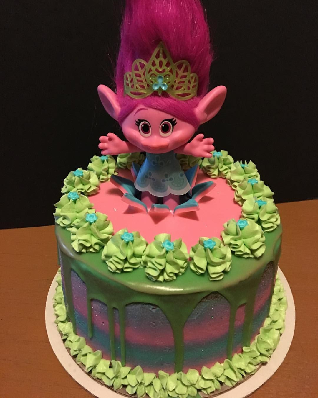 Best ideas about Poppy Troll Birthday Cake . Save or Pin Troll Cake poppy troll trolls trollscake dripcakes Now.