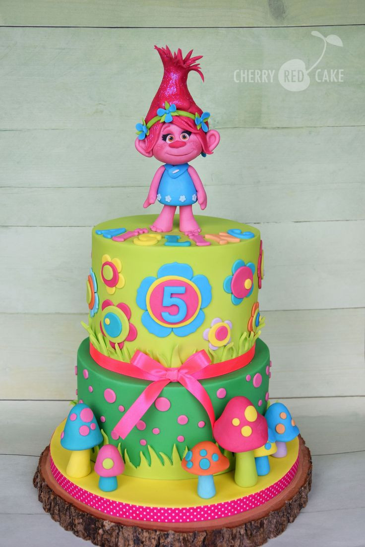 Best ideas about Poppy Troll Birthday Cake . Save or Pin Best 25 Poppy cake ideas only on Pinterest Now.