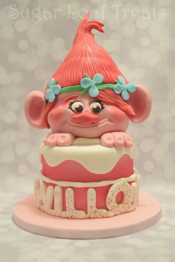 Best ideas about Poppy Troll Birthday Cake . Save or Pin Poppy Troll Cake cake by SugarLoafTreats CakesDecor Now.