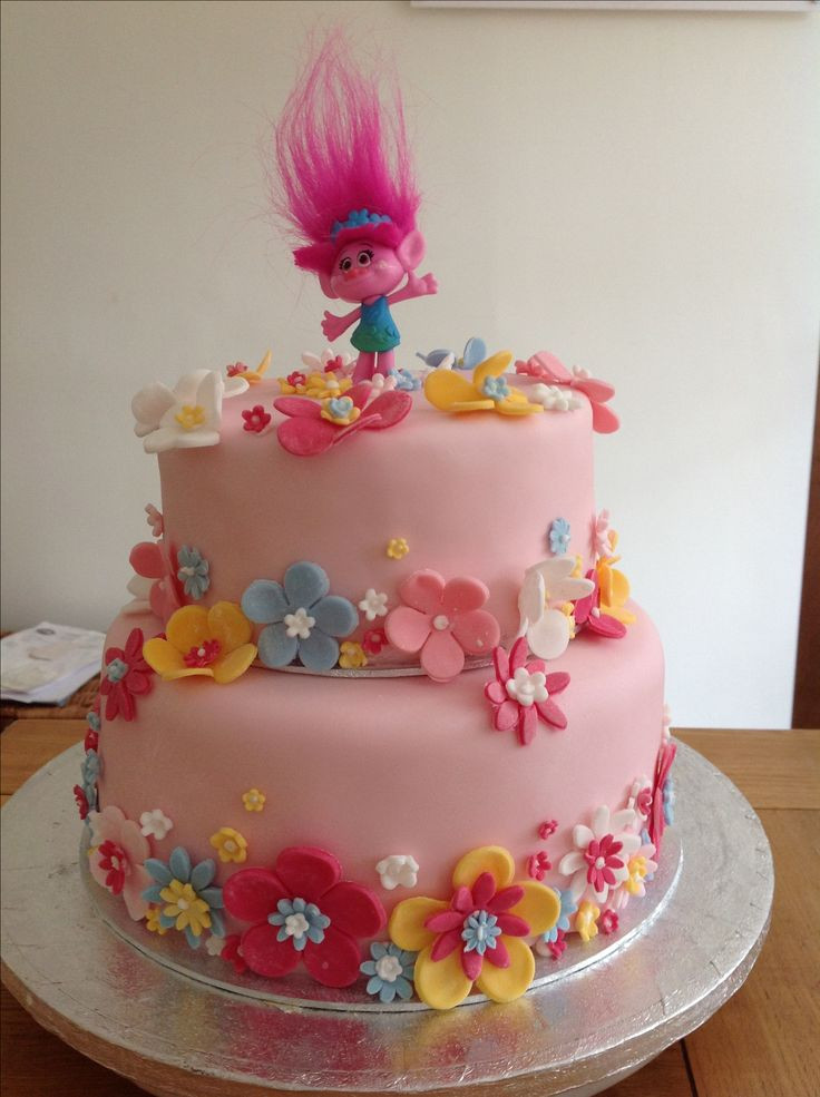 Best ideas about Poppy Troll Birthday Cake . Save or Pin Best 25 Poppy cake ideas on Pinterest Now.