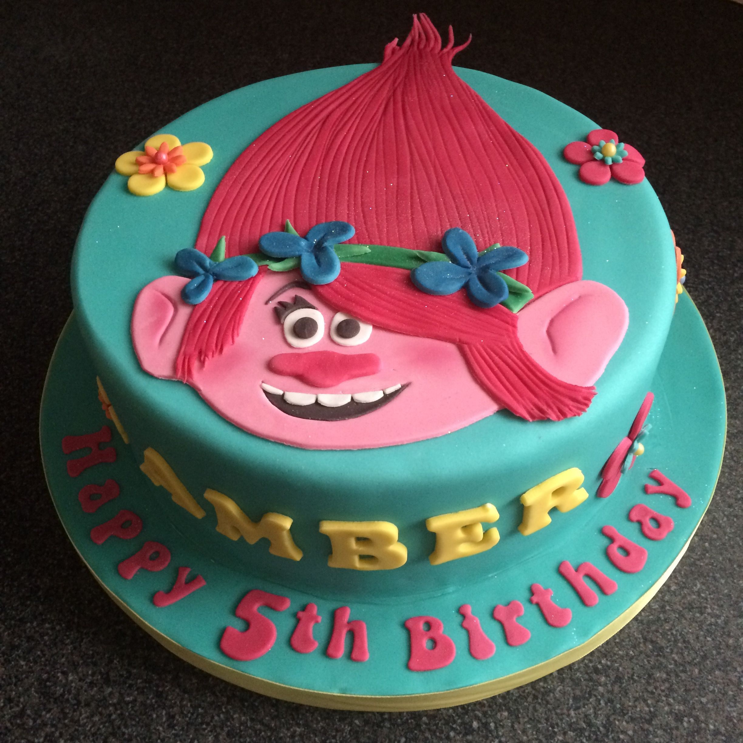 Best ideas about Poppy Troll Birthday Cake . Save or Pin Trolls cake Poppy Sweet shoppe Pinterest Now.