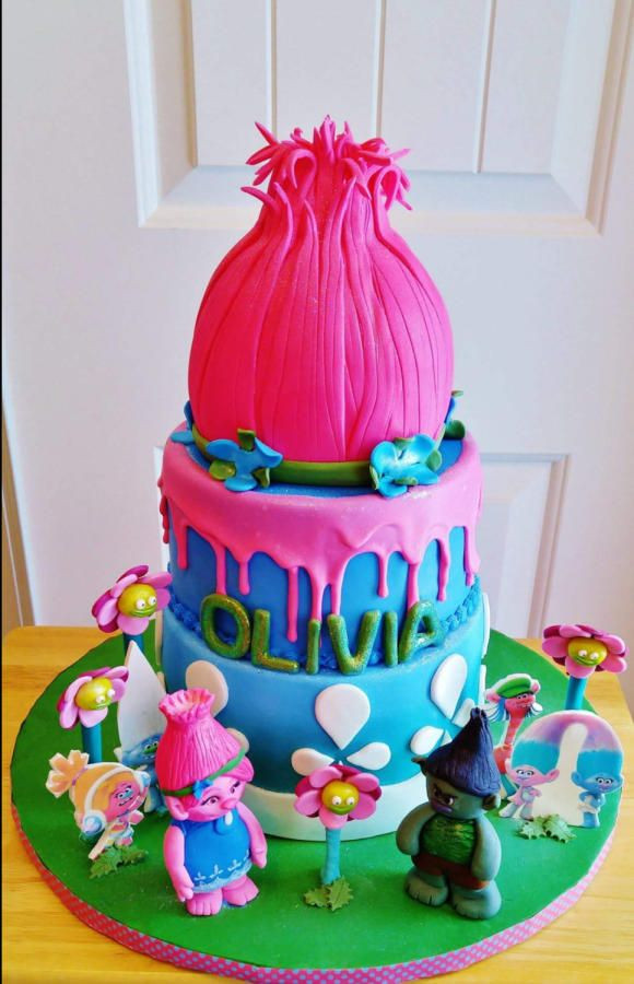 Best ideas about Poppy Troll Birthday Cake . Save or Pin Poppy Troll by Enza Sweet E Now.