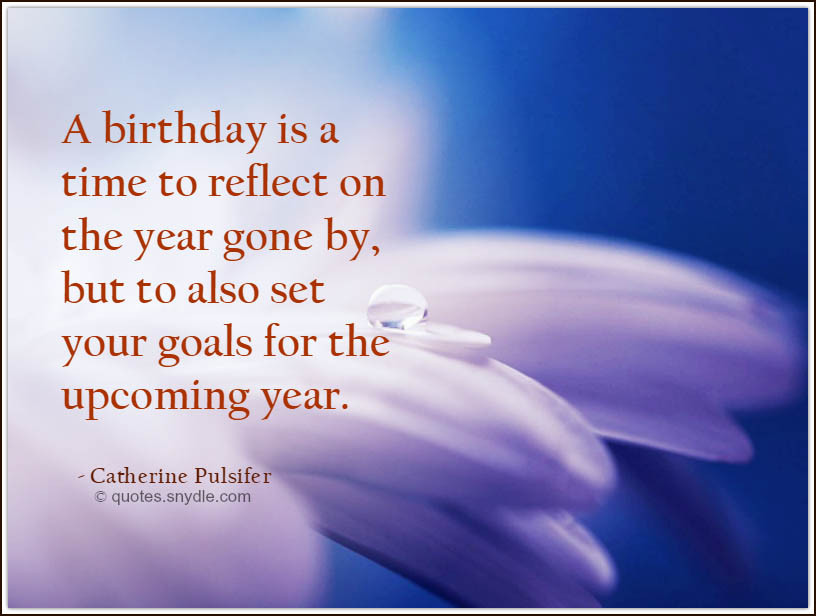 Best ideas about Positive Birthday Quotes . Save or Pin Inspirational Birthday Quotes Quotes and Sayings Now.