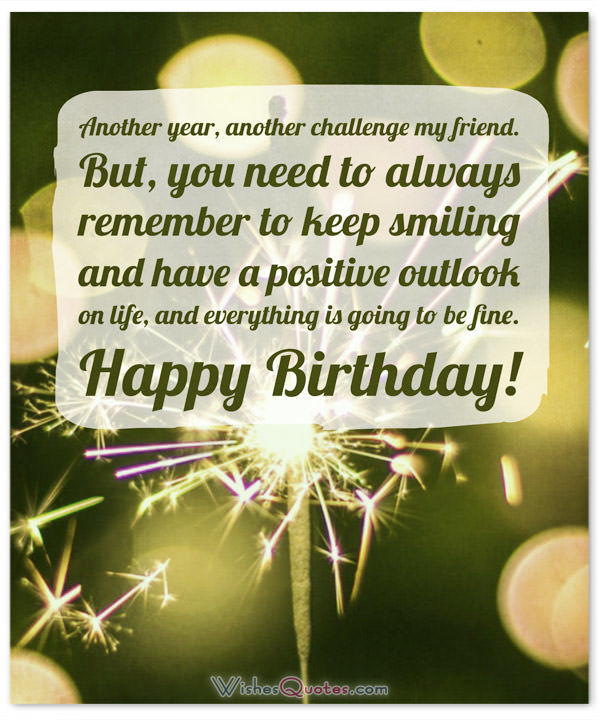 Best ideas about Positive Birthday Quotes . Save or Pin Inspirational Birthday Wishes and Motivational Sayings Now.