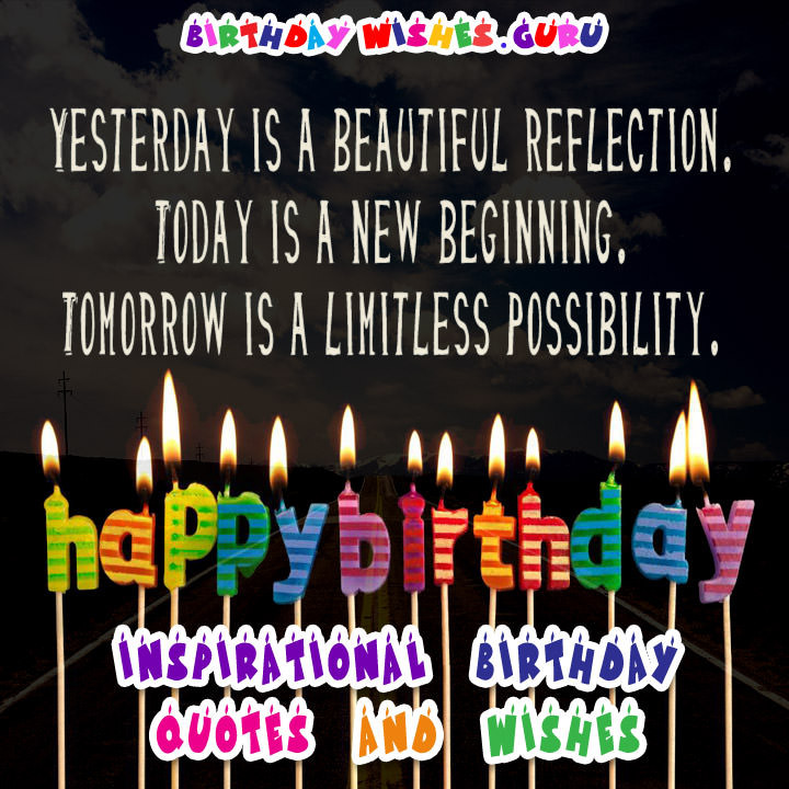 Best ideas about Positive Birthday Quotes . Save or Pin Inspirational Birthday Quotes and Wishes Now.