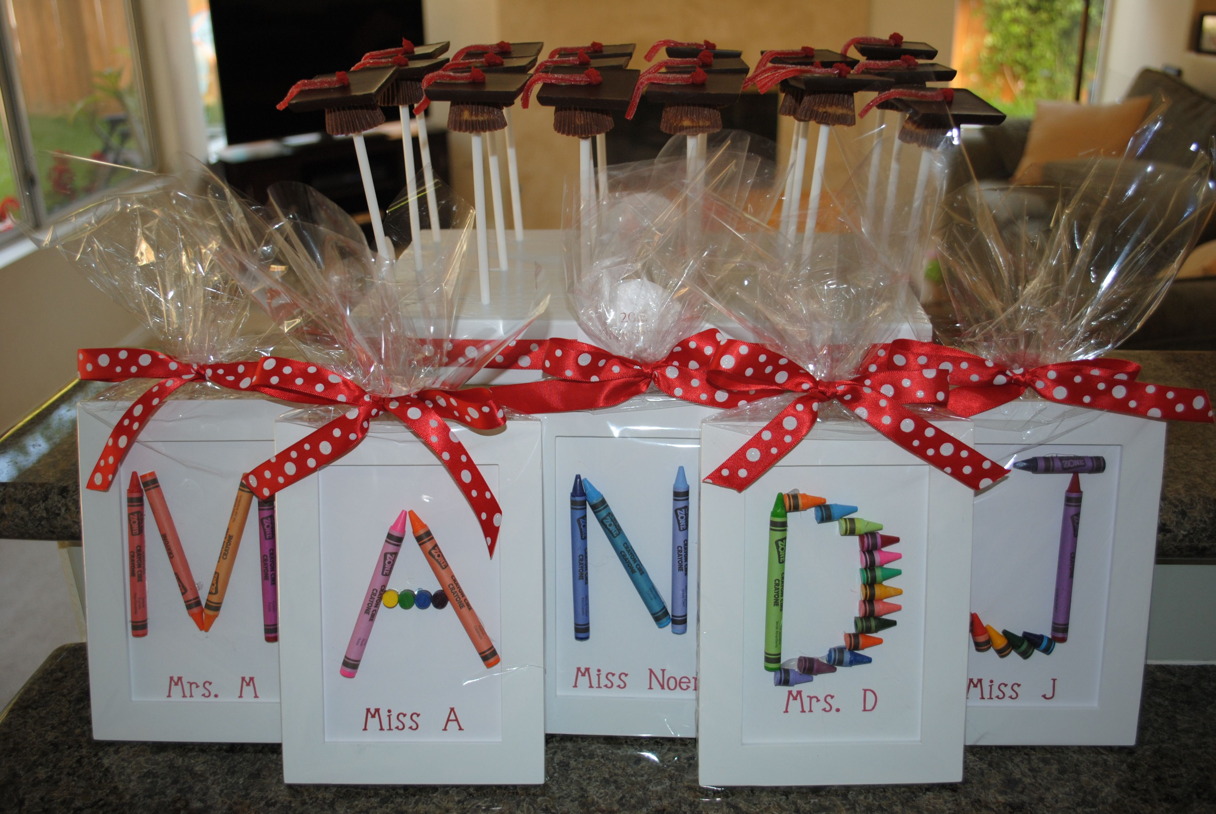 Best ideas about Pre K Graduation Gift Ideas . Save or Pin Make for students instead of teachers Very cute Now.