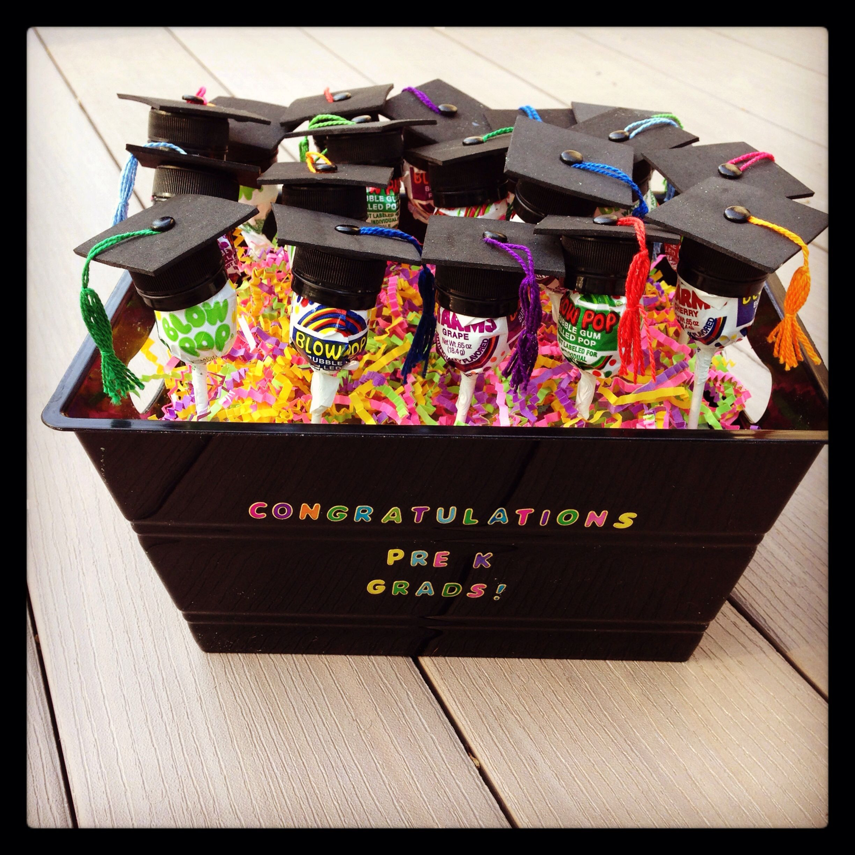 Best ideas about Pre K Graduation Gift Ideas . Save or Pin Pre K Graduation suckers pinspiration Now.