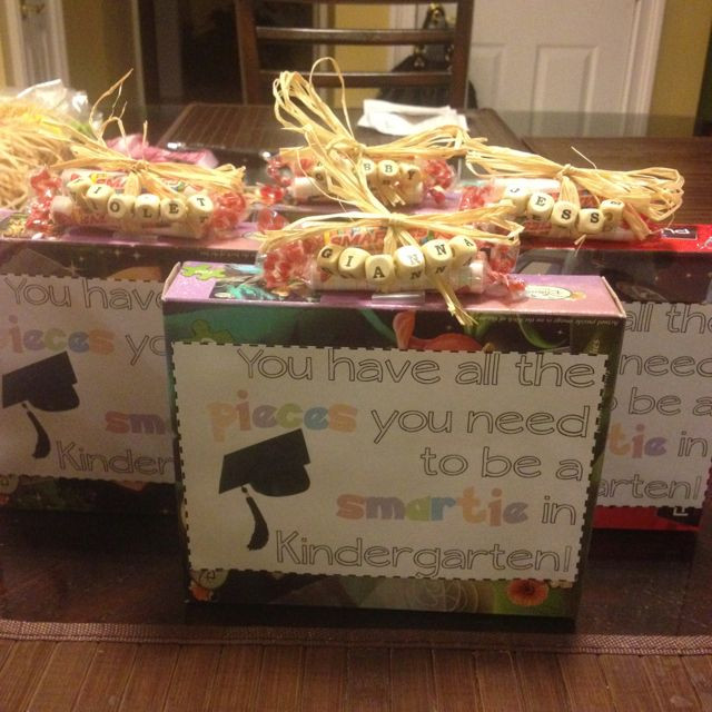 Best ideas about Pre K Graduation Gift Ideas . Save or Pin Cute graduation t for my Pre K class Now.
