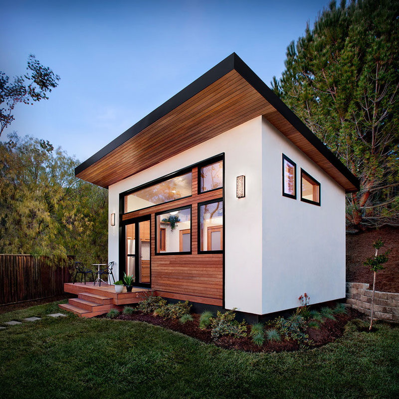 Best ideas about Prefab Backyard Guest House . Save or Pin This small backyard guest house is big on ideas for Now.
