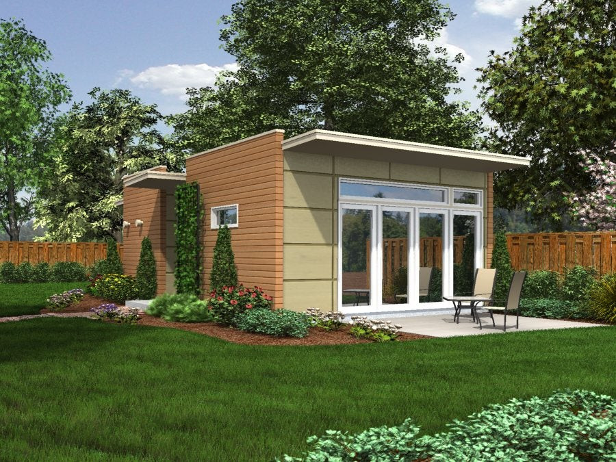 Best ideas about Prefab Backyard Guest House . Save or Pin Backyard Box Now.