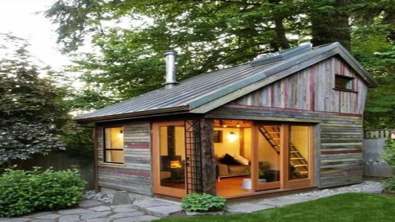 Best ideas about Prefab Backyard Guest House . Save or Pin Back Yard Guest House Prefab Backyard Cottage saltbox Now.