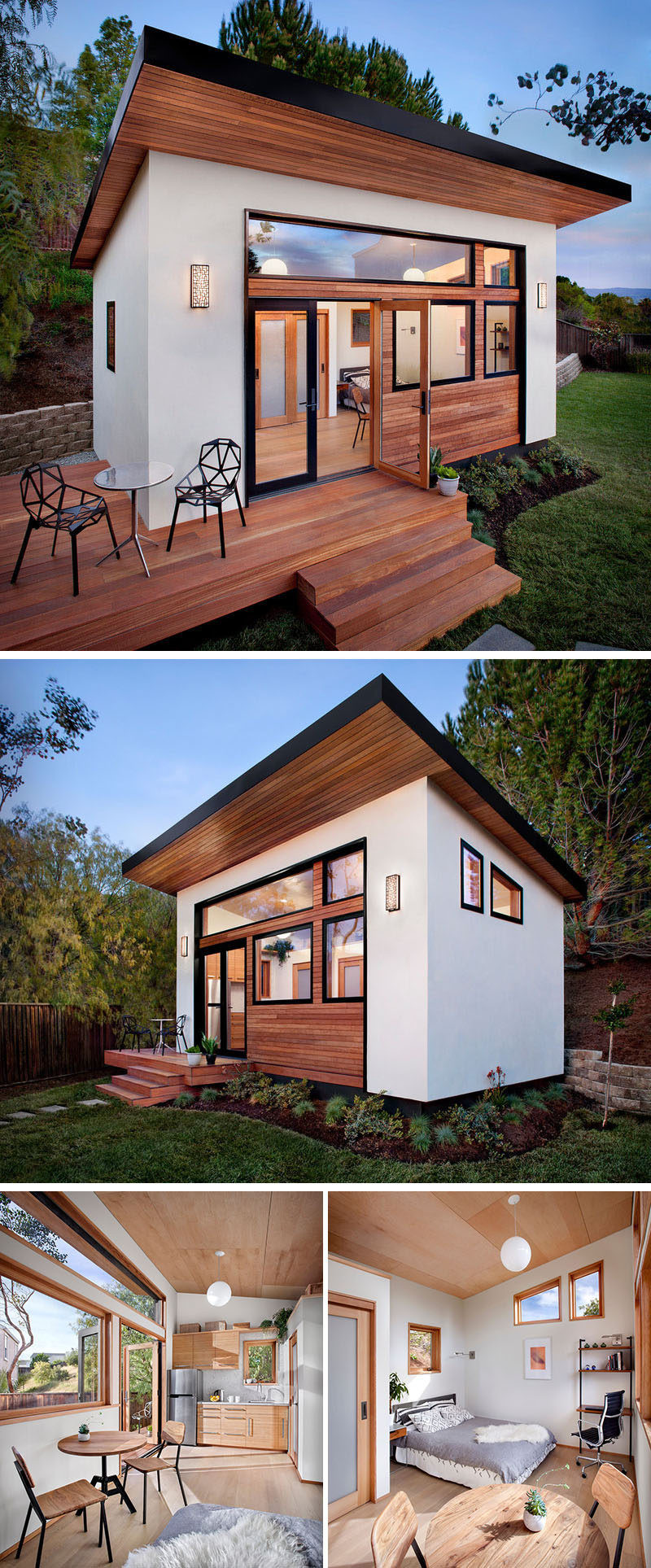 Best ideas about Prefab Backyard Guest House . Save or Pin 14 Inspirational Backyard fices Studios And Guest Now.