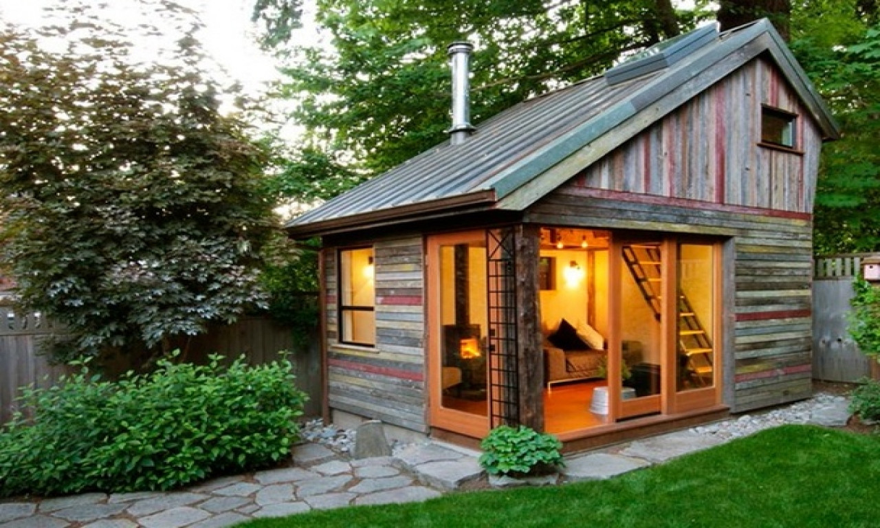 Best ideas about Prefab Backyard Guest House . Save or Pin Back Yard Guest House Prefab Backyard Cottage small tiny Now.
