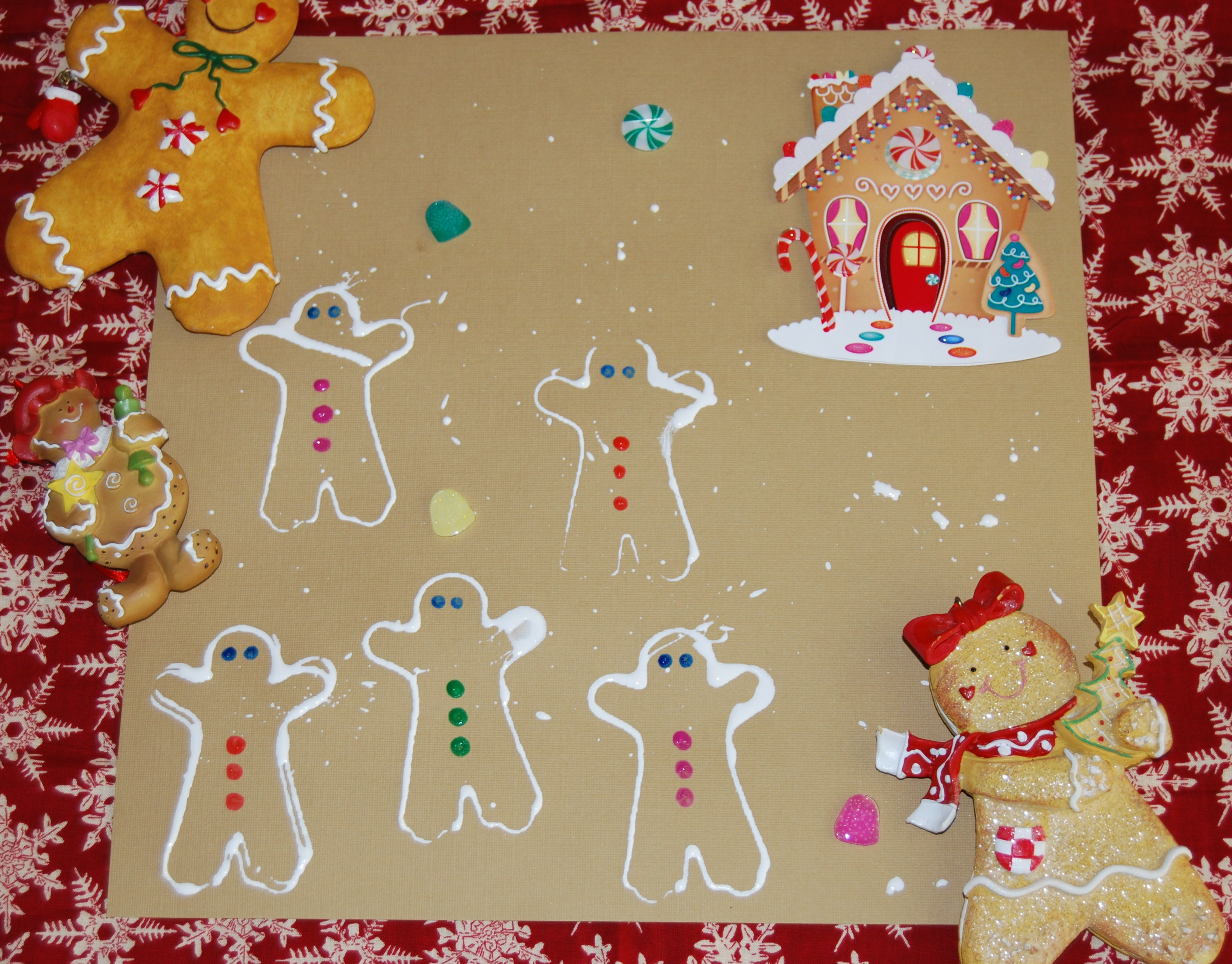 Best ideas about Preschool Art Projects . Save or Pin Gingerbread Theme Activities for Preschool and Kindergarten Now.