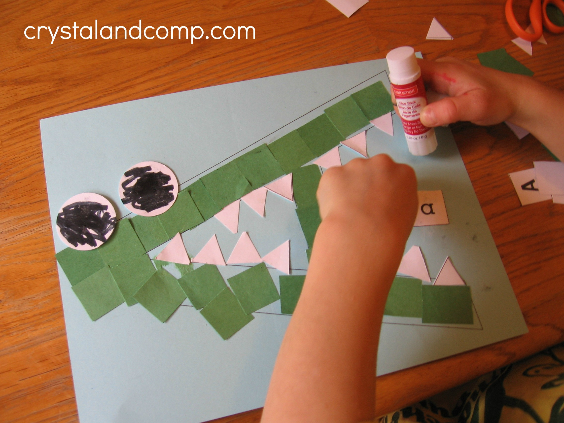 Best ideas about Preschool Art Projects . Save or Pin Letter of the Week A is for Alligator Now.