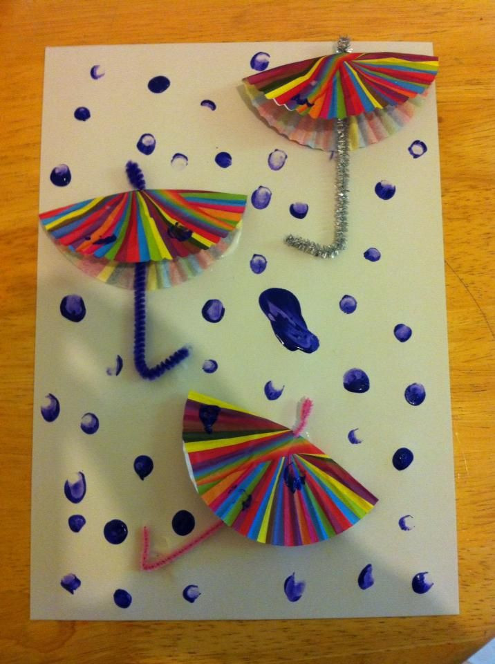 Best ideas about Preschool Art Projects . Save or Pin Easy weather art activity for preschoolers and reception Now.
