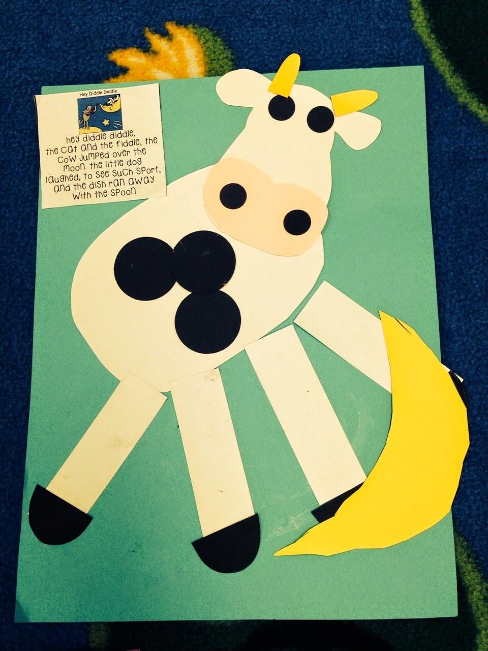 Best ideas about Preschool Arts And Craft . Save or Pin Preschool Wonders Nursery Rhymes Second Verse Now.